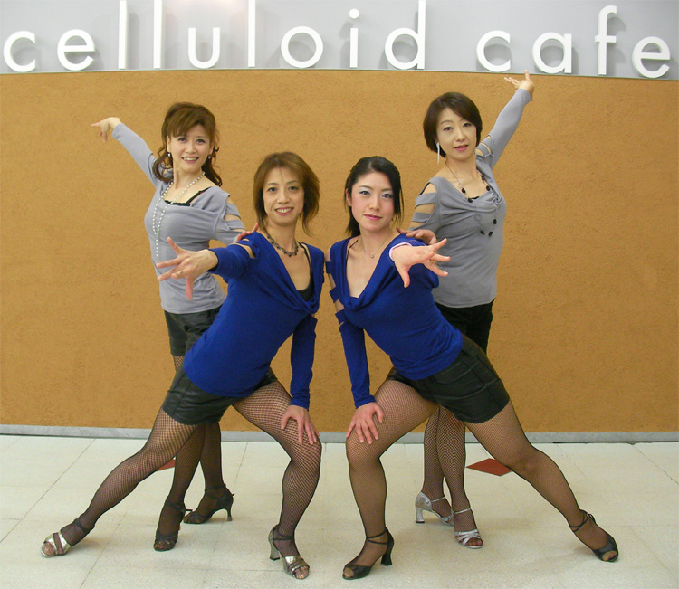 JKS サルサ パーティ in celluloid cafe